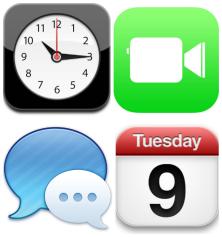 4 iphone tiles